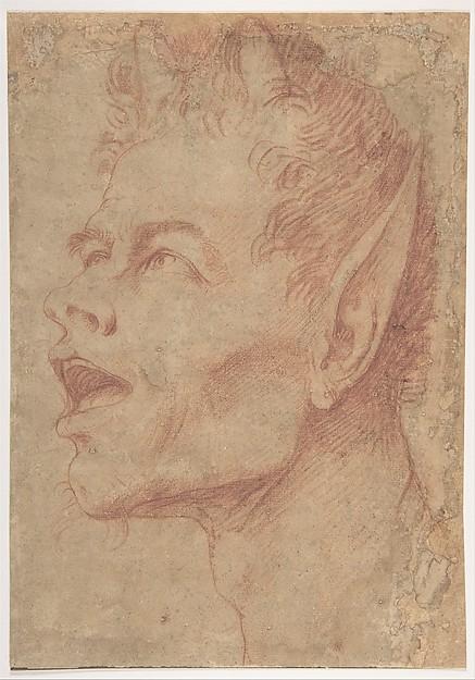 Head of a Satyr Facing Left