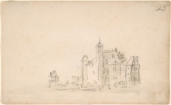 A Castle (on the Rhine?)