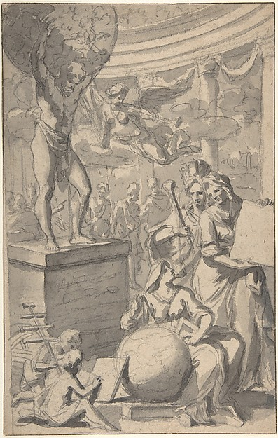 Design for a Frontispiece of a Title Page