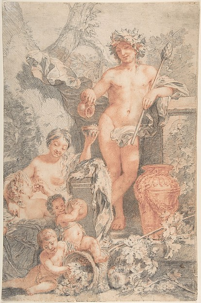 Arcadian Scene with Bacchus