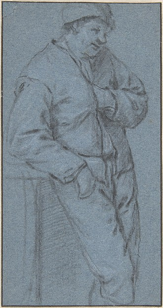 Study of a Standing Peasant