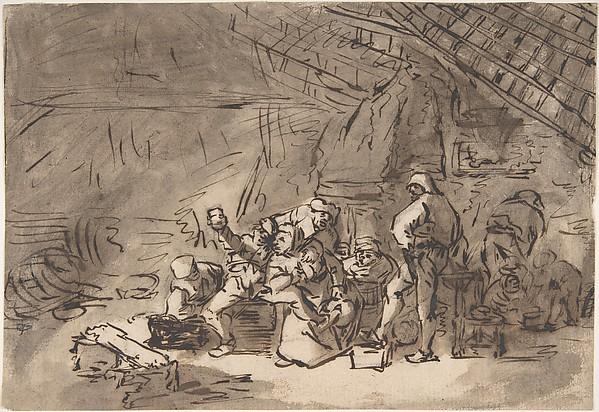 Scene in an Inn