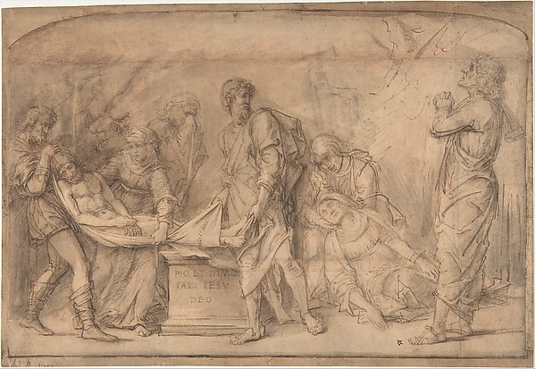 The Entombment, after Mantegna