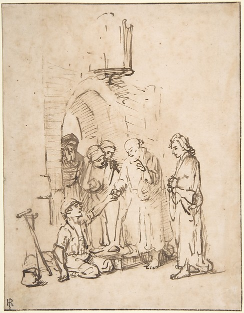 St. Peter and St John Healing the Paralytic