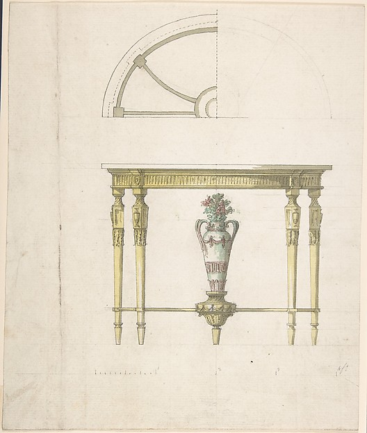 Design for a Console Table
