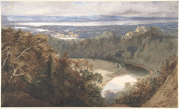 View of Chepstow, Wales