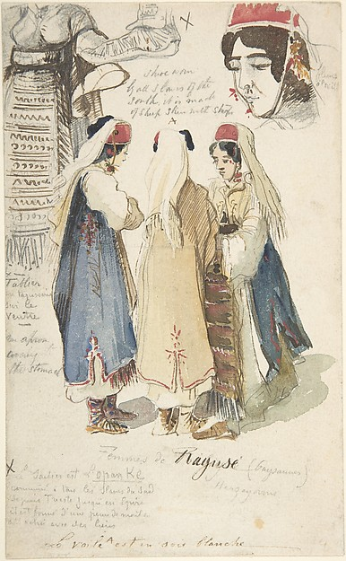 Peasant Women from Ragusa