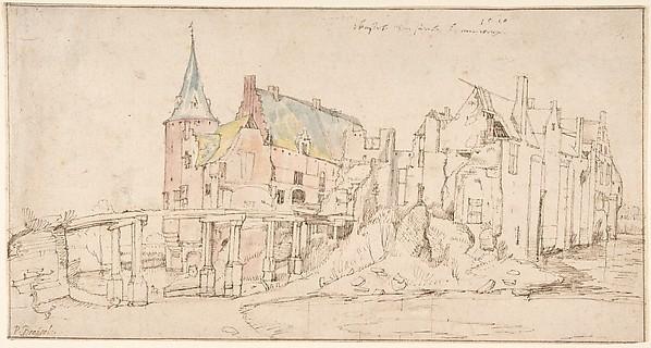 The Ruins of Castle Merxem, near Antwerp
