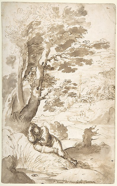 Landscape with Jacob Sleeping