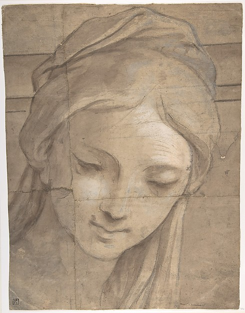Head of a Young Woman in Three-Quarter View Facing Left