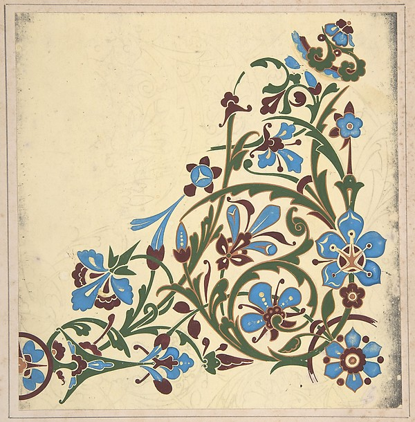Design for a Floral Pattern