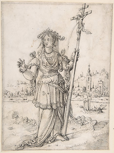 Allegorical Figure (Faith?)