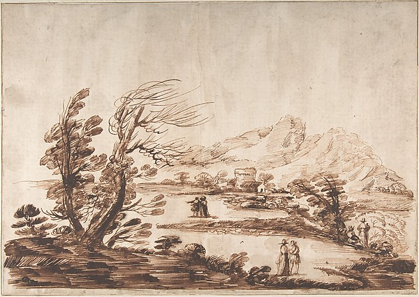 Landscape with Six Figures.