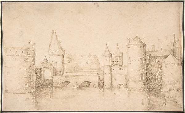 Walls, Towers, and Gates of Amsterdam