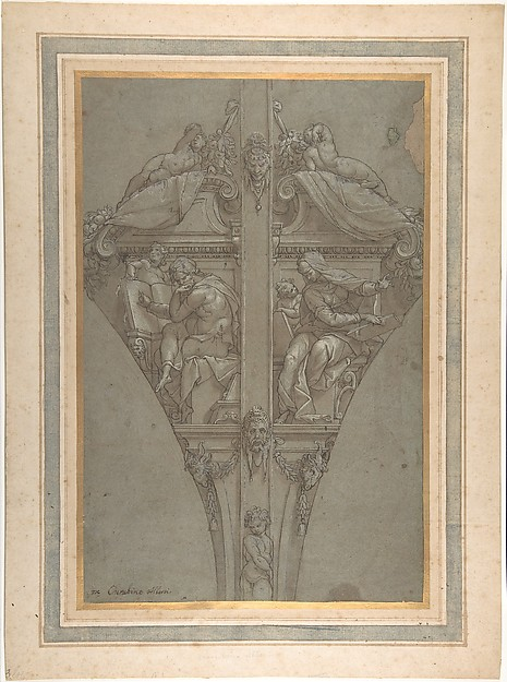Study for the Decoration of a Vault