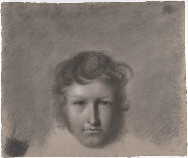This is What Andre-Jacques-Victor Orsel and Self-Portrait Looked Like  in 1815