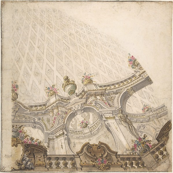 Design for a Cupola Decoration