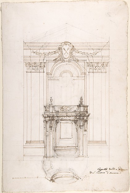 Project for a Chapel in the Church of San Ciriaco, Ancona