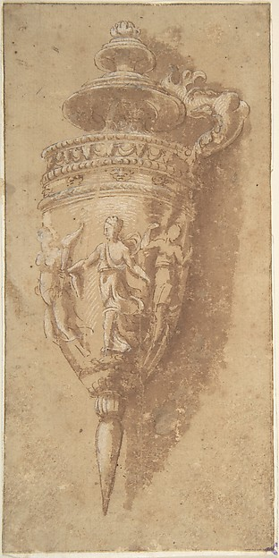 Design for a Decorative Vessel
