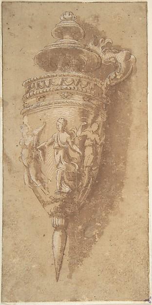 Design for a Decorative Vessel