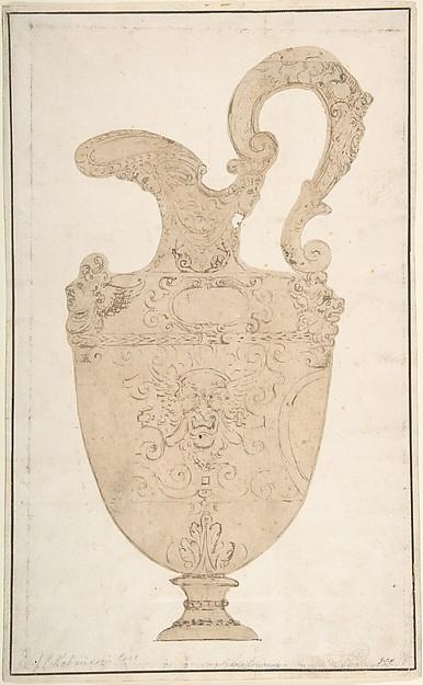 Design of Antique Pitcher