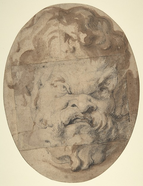Head of a Satyr