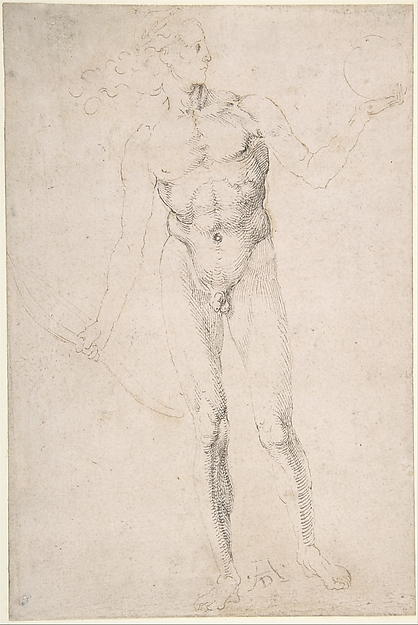 "Standing Male Nude Holding a Bow (""Poynter Apollo"")"