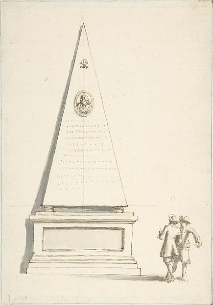 Funerary Monument with Two Male Figures (Santa Maria del Popolo, Cappella Chigi, Rome)