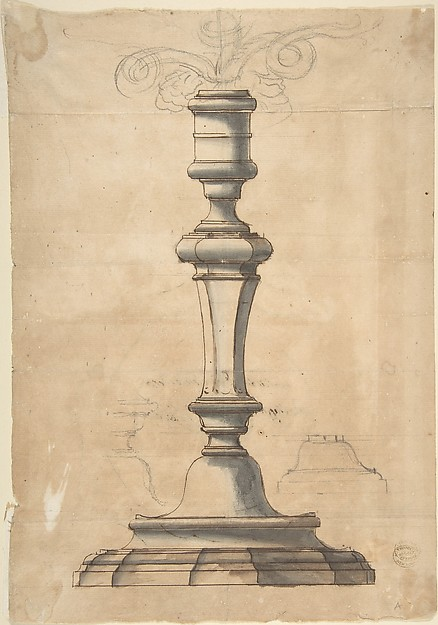 Candlestick with Three Branches