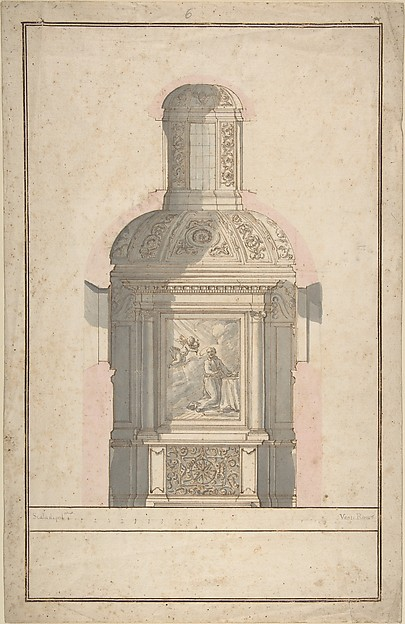 Architectural Drawing for a Chapel
