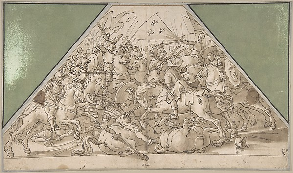 This is What Hans Heinrich Waegmann and Battle Scene Looked Like  in 1611