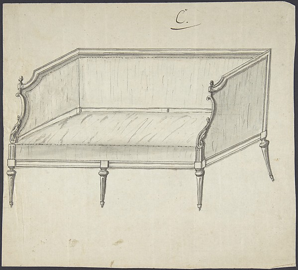 Design for a sofa