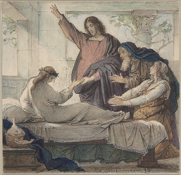 The Raising of the Daughter of Jairus
