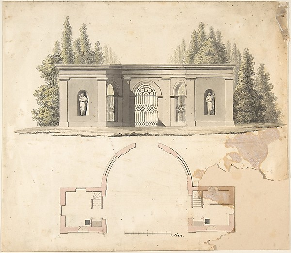 Elevation Design for Pavillion