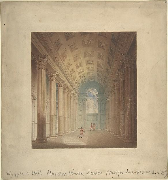 Egyptian Hall, Mansion House, London