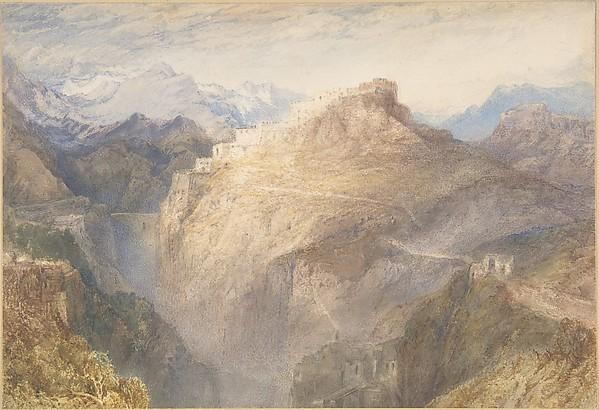 Fort of L'Essillon, Val de la Maurienne, France
