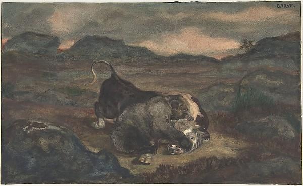 Bear Killing Bull