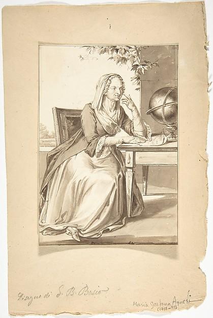 Portrait of Maria Gaet - Agnesi