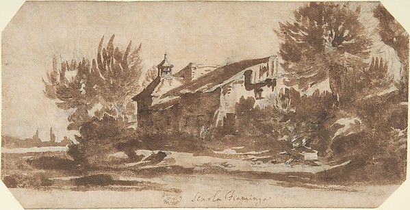 Landscape with a Country Chapel