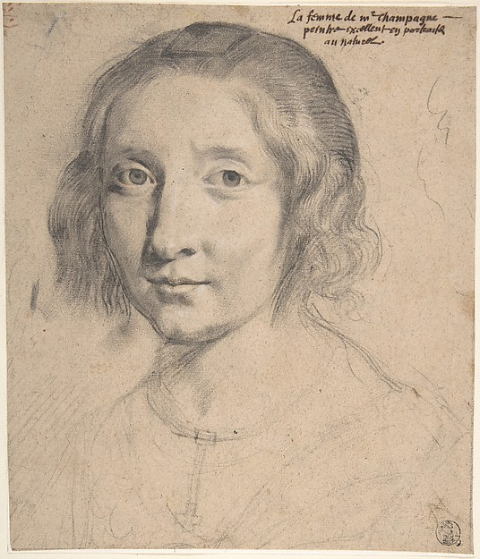 Portrait of Charlotte Duchesne