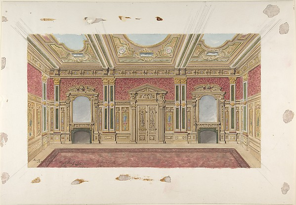 Room Design in the Renaissance style