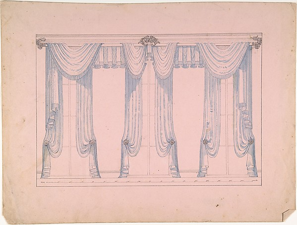 Design for Window drapery