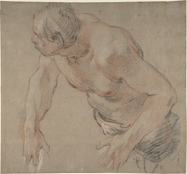Half Figure of a Man, Nude to the Waist