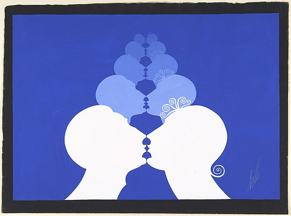 "Curtain Design for ""Kiss Me Again,' George White's Scandals, New York, 1928."