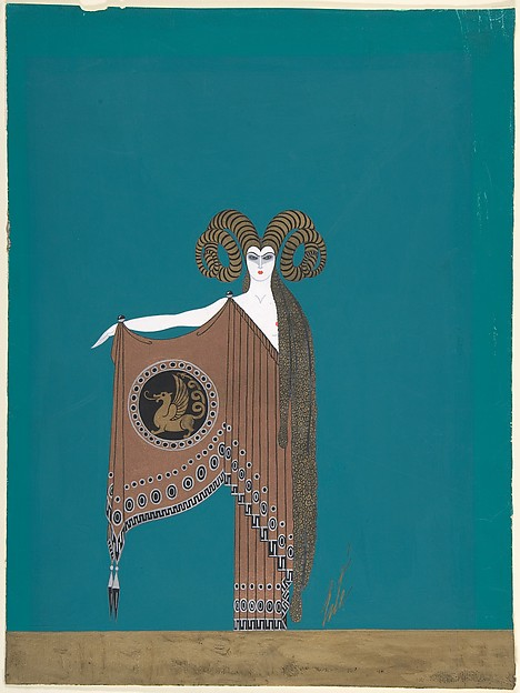 """""""La Toison d'Or"""": Costume Design for """"The Golden Fables"""" (1926) George White's Scandals, New York"""