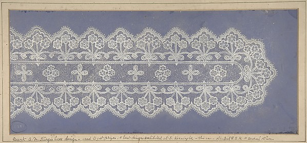 Design for lace