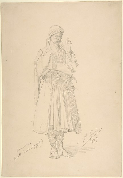 Arnaut Officer in Prayer