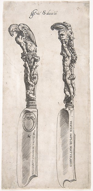 Design for Two Knife Handles