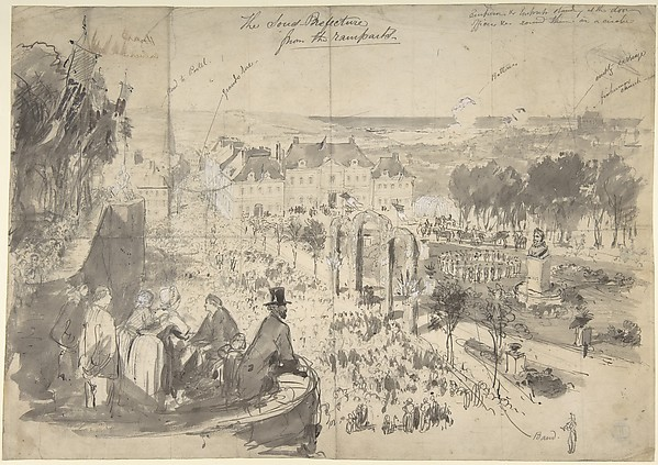 The Visit of Napoléon III to Boulogne-sur-Mer
