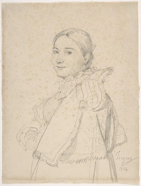 Portrait of Madame Ingres, née Madeleine Chapelle
